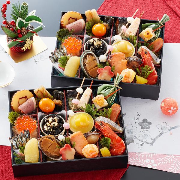 京都御所南京料理おせち「やまの」双葉600-1。京都料亭おせち通販人気ランキング